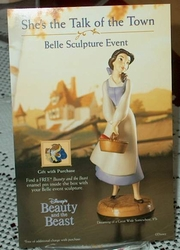 Post Card WDCC Belle Beauty and the Beauty 2001