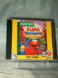 PC CD-ROM Sesame Street The Adventures of Elmo in Grouchland