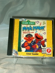 PC CD-ROM Sesame Street Music Maker