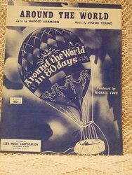 Collectible Sheet Music Around The World