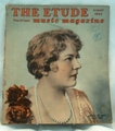 Etude The Music Magazine 1947 August Cover: Louise Homer 1871-1947