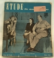 Etude The Music Magazine 1949 June
