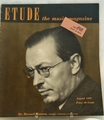 Etude The Music Magazine 1949 August