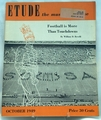 Etude The Music Magazine 1949 October