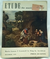 Etude The Music Magazine 1949 December