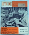 Etude The Music Magazine 1950 January
