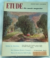 Etude The Music Magazine 1950 August