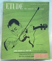 Etude The Music Magazine 1950 October