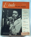 Etude The Music Magazine 1951 August