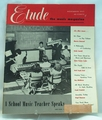 Etude The Music Magazine 1951 November