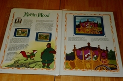 Classic Disney's Movie Collector Stamp Panels Robin Hood
