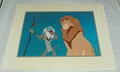 Disney Store 1995 The Lion King Exclusive Commemorative Lithograph