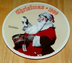 1999 Rockwell Plate A Drum For Tommy Series Name Annual Holiday Plate SOLD