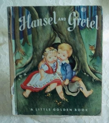 Book 1954 Hansel and Gretel Little Golden