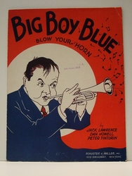 Collectible Sheet Music Big Boy Blue Blow Your Horn