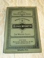 Kenilworth Condensed Sir Walter Scott Textbook