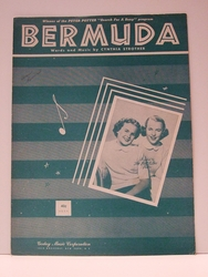 Collectible Sheet Music Bermuda Winner of the Search For A Song