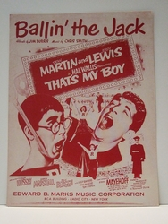 Collectible Sheet Music Ballin the Jack From That's My Boy