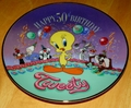 Collector Plate Looney Tunes Plate Happy 50th Birthday Tweety