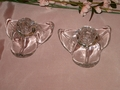 Duncan & Miller American Way Leaf Candle Holders