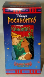 Disney Pocahontas Collector Plastic Character Glass from Coca Cola & Buger King