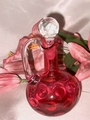 POPULAR FENTON CRANBERRY COIN DOT CRUET