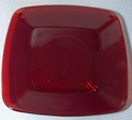 "Plate Royal Ruby Anchor Hocking 8 1/2"" Plate"