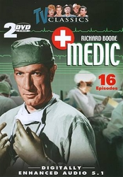 Richard Boone Medic TV Classics 16 Episodes (DVD, 2-Disc Set)