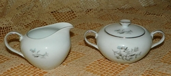 Fine China Cream and Sugar by Yamato China
