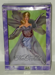 Orchid Barbie Doll 2000 Flowers in Fashion Collection Limited Edition NRFB