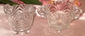 Cambridge Glass Caprice Creamer & Sugar Set Medium