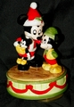 Disney Schmid Music Box Jolly Old St Nicholas Mickey Mouse