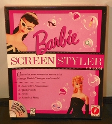 Barbie Screen Styler Icons, Backgrounds, Screensavers CD Rom 1997
