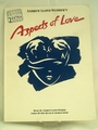Sheet Music Book Aspects of Love Andrew Lloyd Webber's 1989/90
