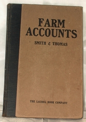 Book Farm Accounts 1913 1st Edition