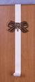 Solid Brass Bow Wreath Holder ON HOLD