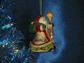 Thomas Kinkade Jolly Ol' Soul Porcelain Ornament