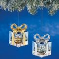Thomas Kinkade Ornaments I'll Be Home for Christmas & Christmas Memories