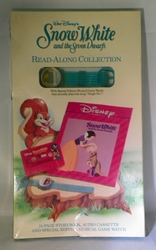 Disney Snow White and the Seven Dwarfs Read Along Collection w/Musical Game Watch