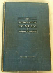 Book An Introduction to Music