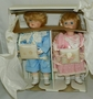 Pair of Porcelain Dolls Moments Treasured Lt Ed 2,500