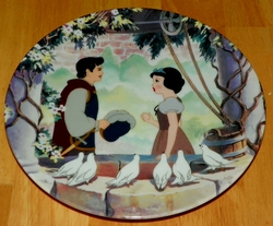 Disney Collector Plate Knowles Snow White Wish Come True Out of Stock