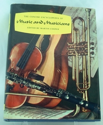 Book - The Concise Encyclopedia of Music & Musicians