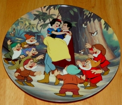 Disney Collector Plate Knowles Snow White Happy Ending SOLD