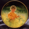 Collector Plate Donald Zolan A Time for Peace March of Dimes #2186D