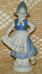 Ceramic Dutch Girl Figurine