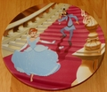 Disney Collector Plate Cinderella Series At the Stroke of Midnight
