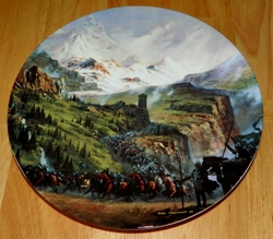 Collector Plate Lord of the Rings The Ride of the Rohirrim SOLD