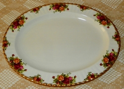 Royal Albert Old Country Roses Platter 16 inches Made in England SOLD