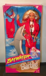 Barbie Doll Bay Watch with Dolphin NRFB SOLD